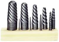 Irwin Industrial Tool Co 9 Piece Set (1-9) Spiral Screw Extractor at Sears.com