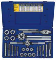 "Irwin Industrial Tool Co 25 Piece Tap and Die Set 9/16 to 1"" Sizes at Sears.com"