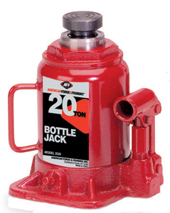 American Forge & Foundry 20 Ton Bottle Jack L 9-5/8 H 18-1/4 at Sears.com