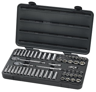 GearWrench 57 Piece 3/8 Drive 6 Point Socket Set at Sears.com