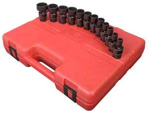 Sunex 12 Piece 3/8 Drive 12 Point Universal Impact Socket Set at Sears.com