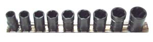"H.B. PRODUCTS INC 9 Piece 3/8"" Drive Metric Turbosocket Set at Sears.com"